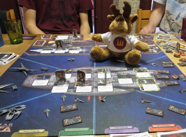L'élan explique Battlestar Gallactica